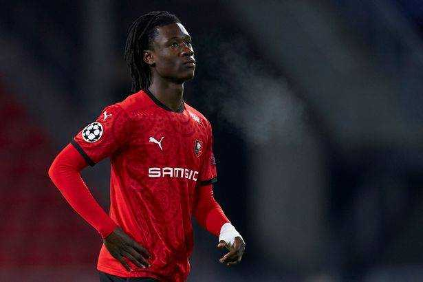 Stade Rennes midfielder Edouardo Camavinga is one of the most coveted young players in world football.